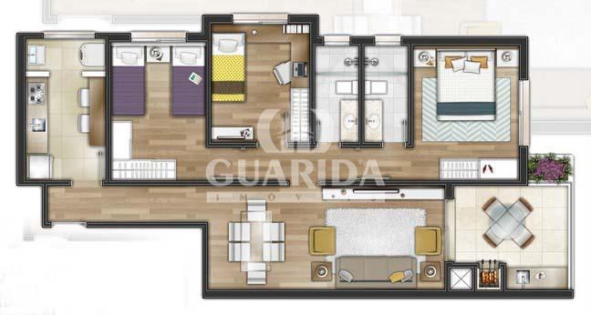 Cobertura de 3 dormitórios à venda em Engenho, Guaíba - RS