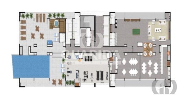Apartamento Duplex de 1 dormitório à venda em Jardim Botânico, Porto Alegre - RS