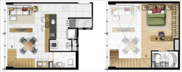 Loft de 1 dormitório à venda em Praia De Belas, Porto Alegre - RS
